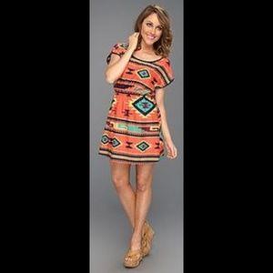 83a69fc2236fc Gabriella Rocha tribal Aztec western dress
